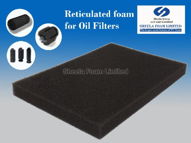 Oil Filter Reticulated Foam Sheet 01
