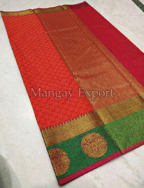 Fancy Silk Saree 01