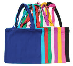 Colored Cotton Cloth Bags