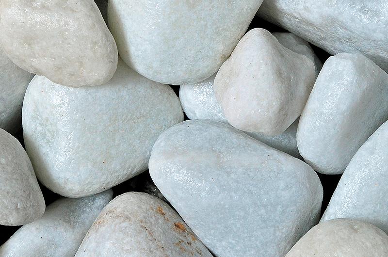 White Marble Cobbles