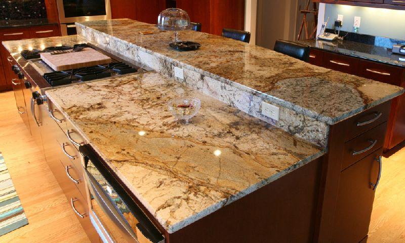 Brown Pearl Granite Slab