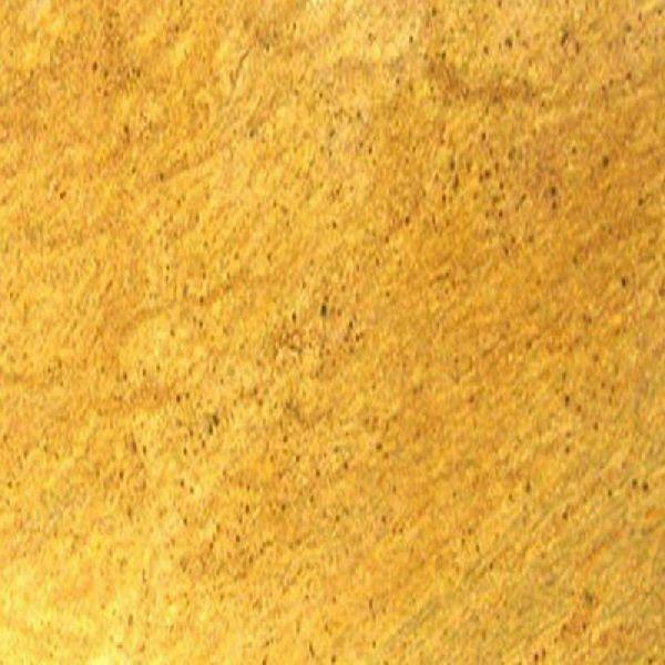 Crystal Yellow Granite Slab