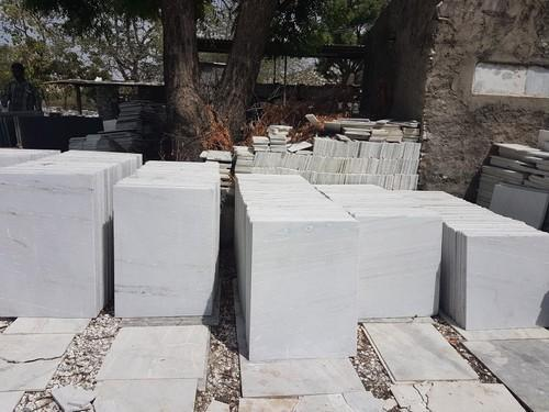Dholi Khan White Marble Slab