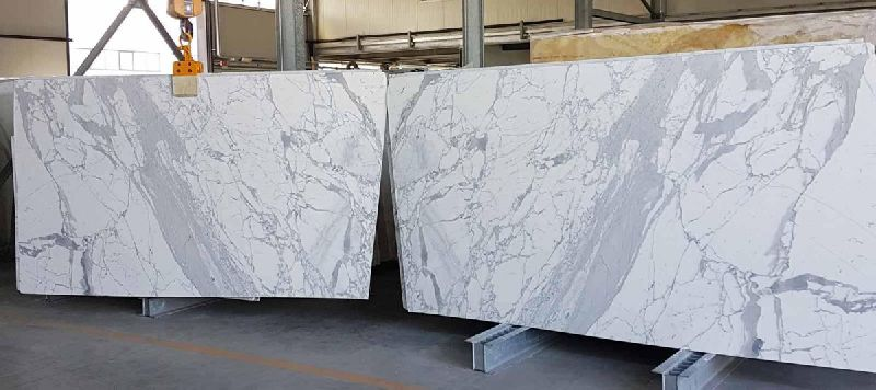 Omnia White Marble Slab
