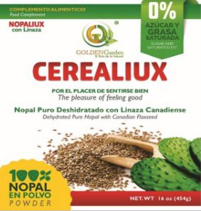 454gm Cerealiux (Nopal y Linseed)
