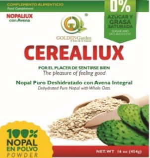 454gm Cerealiux (Nopal y Oats )