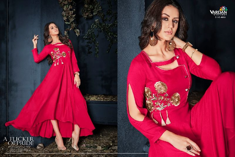 Gulnaz Vol-1 Heavy Rayon Long Kurtis