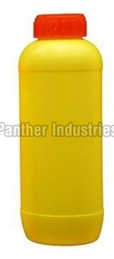 Yellow HDPE Emida Shaped Bottle