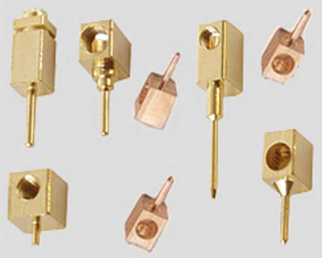 Brass Square Pin 02