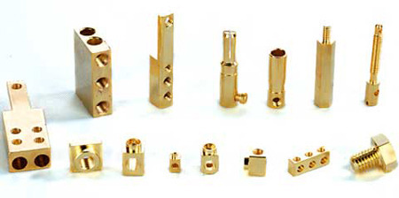 Brass Square Pin 04
