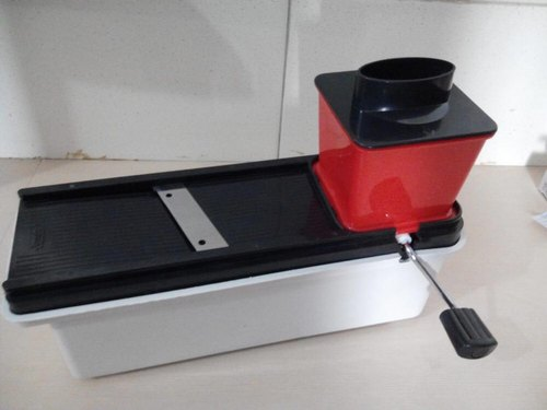 Plastic and Stainless Steel Vegetable Slicer