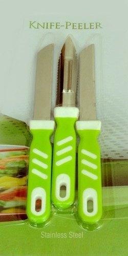 Plastic Handle Knife Set