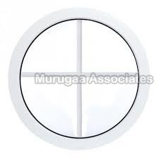 UPVC Round Fixed Window