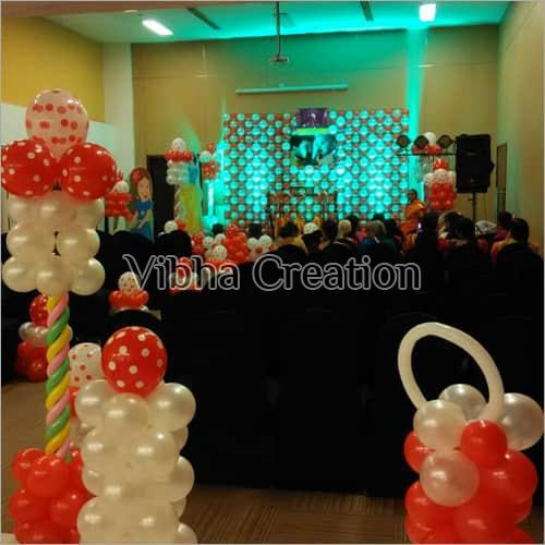 Birthday Party Decoration Service