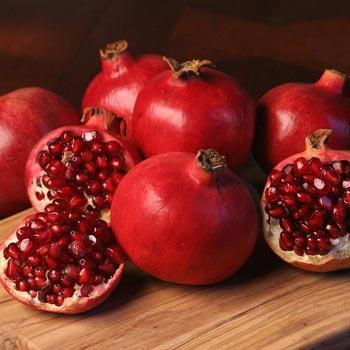 Fresh Red Pomegranate