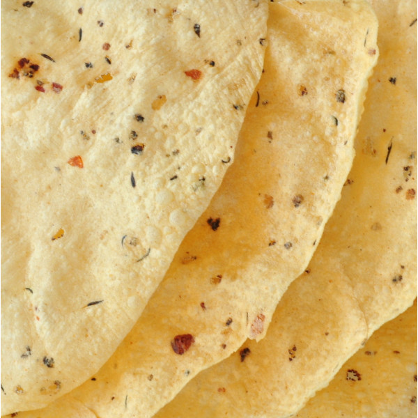 Spicy Moong Dal Papad