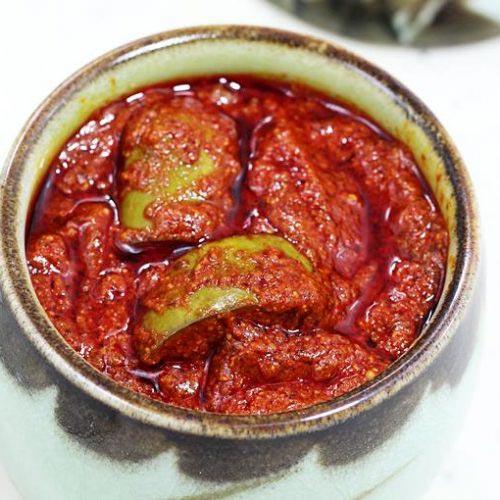 Spicy Mango Pickle