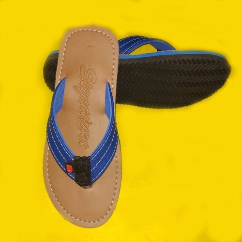 Mens Plain Designer Slipper 01