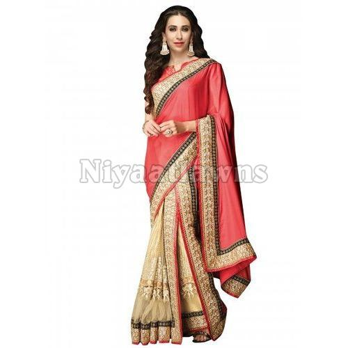 Border Designer Ladies Sarees