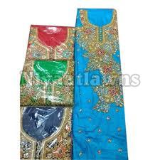 Ladies Embroidered Unstitched Suit
