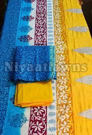 Ladies Silk Unstitched Suit