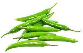 Fresh Long Green Chilli