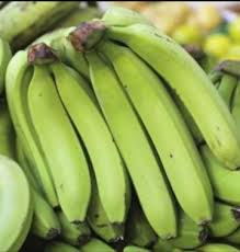 Fresh Raw Green Banana