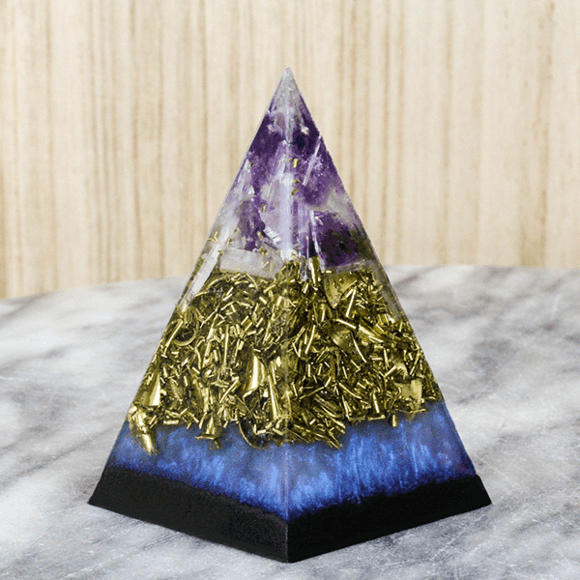 Crystal Orgonite Pyramid