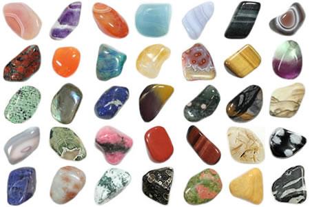 Multicolor Tumbled Stones