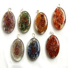 Oval Orgonite Pendants