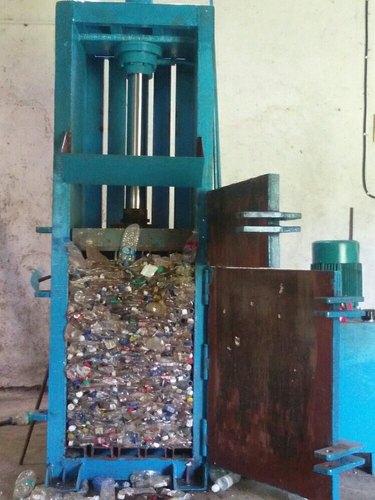 Mild Steel Hydraulic Baling Press Machine