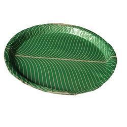 Green Buffet Plate