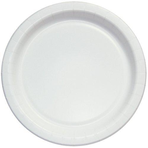 Plain Paper Plate