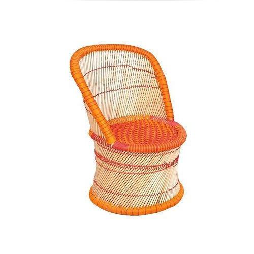 Orange Mudda Chair