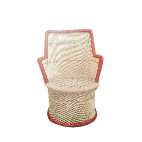 Red and Brown Mudda Chair