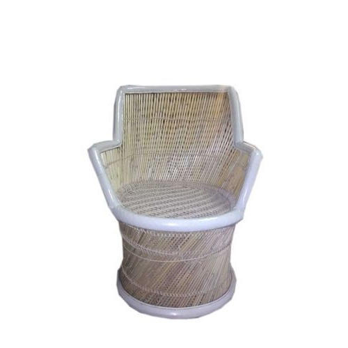 White & Brown Mudda Chair