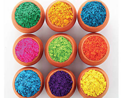 Herbal Holi Color