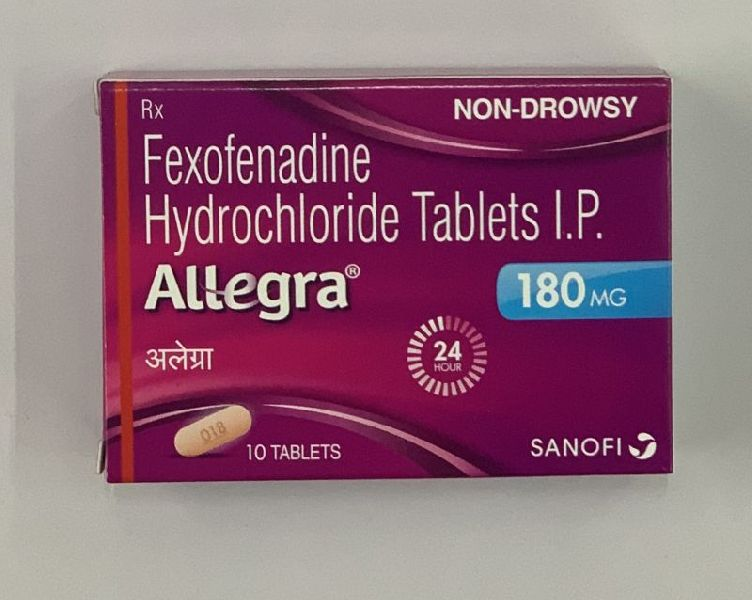 180mg Fexofenadine Hydrochloride Tablets