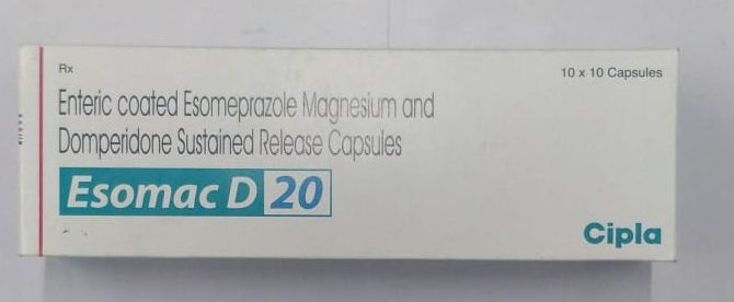 20mg Enteric Coated Esomeprazole Magnesium and Domperidone Sustained Release Capsule