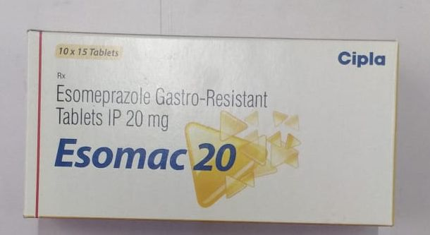 20mg Esomeprazole Gastro Resistant Tablets