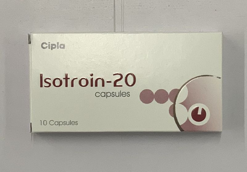 20mg Isotroin Capsules