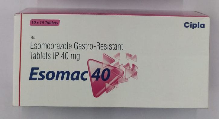 40mg Esomeprazole Gastro Resistant Tablets