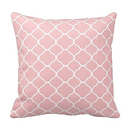 Baby Pink Pillow Covers