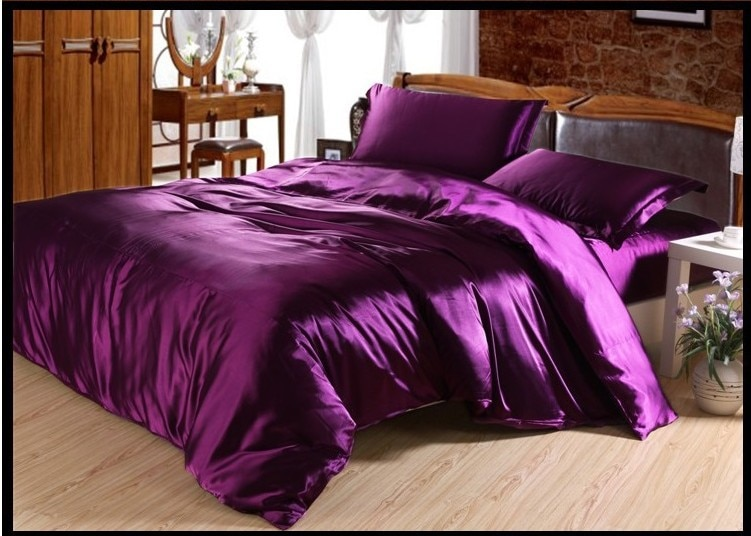 Purple Bed Sheets