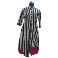 Striped Casual Kurti