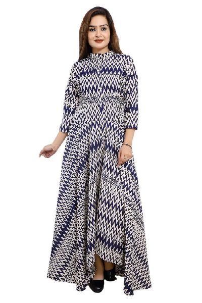 ZIg Zag Designer Gown