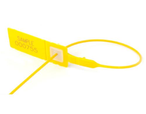 Yellow Plastic Seals