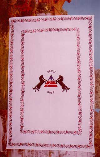 Regimental Bed Sheet 02