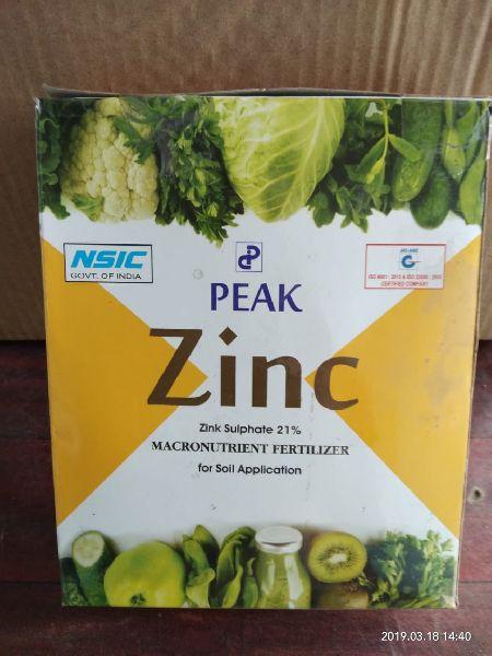 Peak Zinc