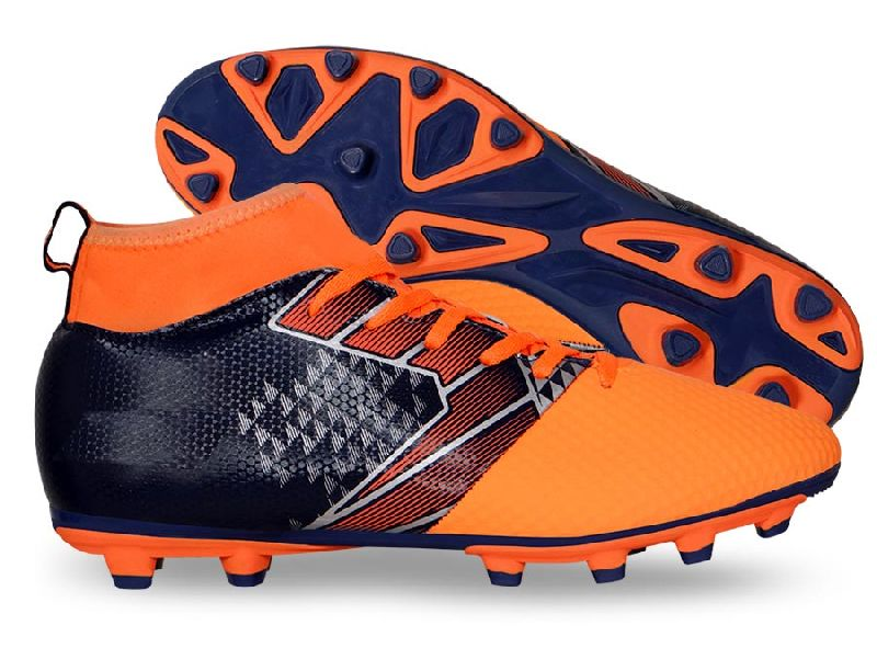 Ashtang Orange Soccer Shoes